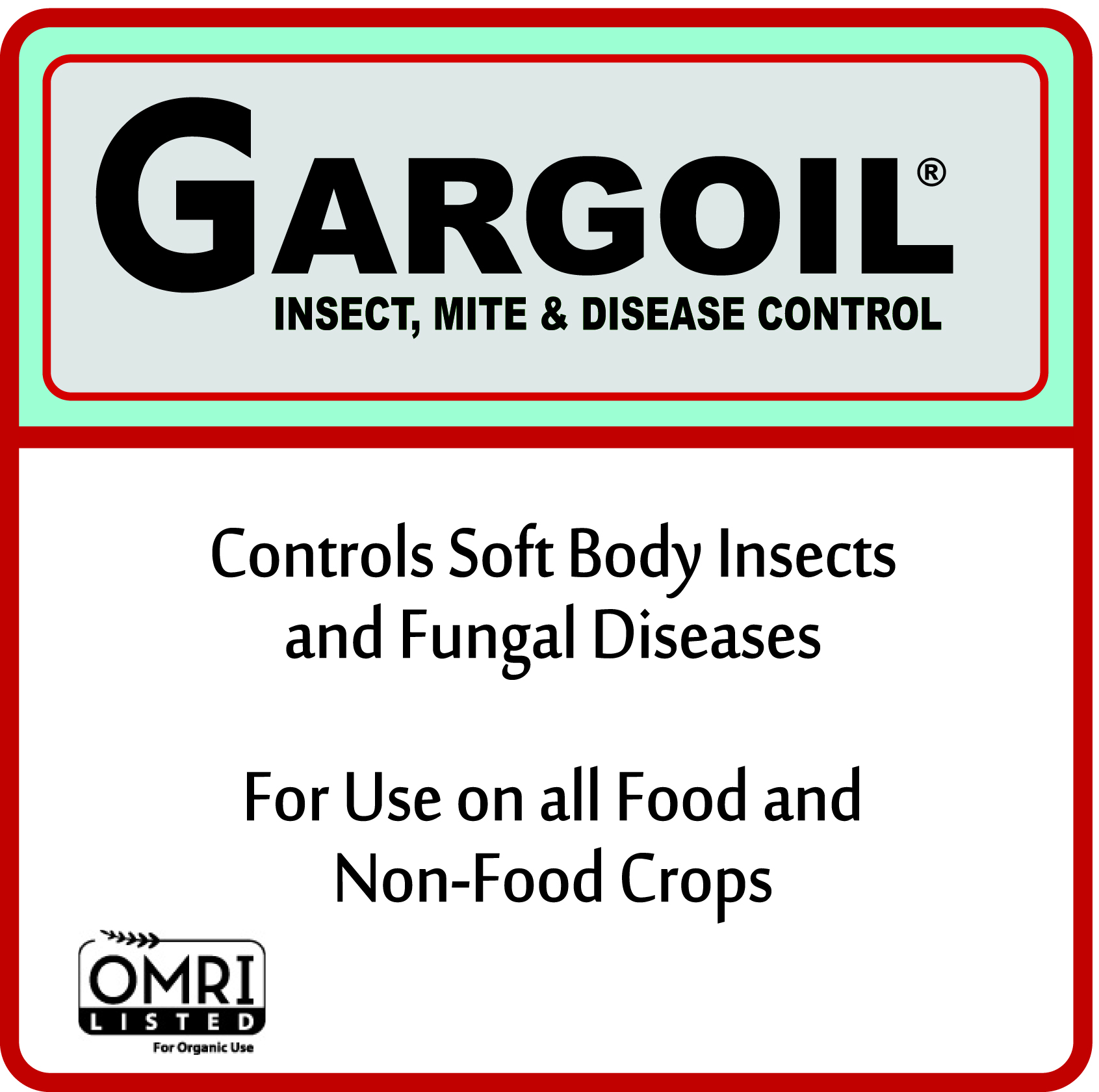 GARGOIL® INSECT, MITE & DISEASE CONTROL