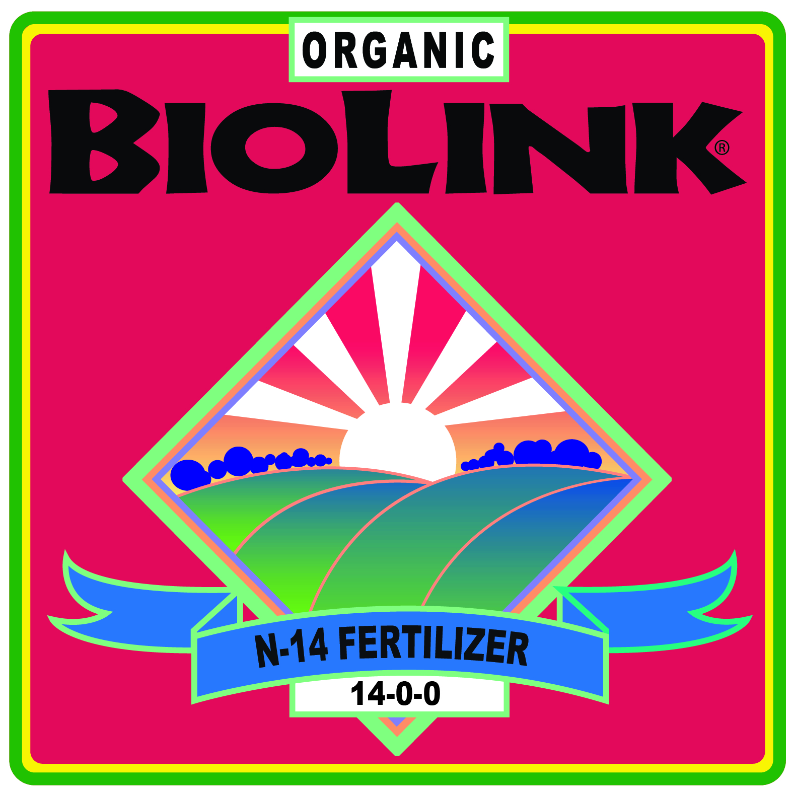 ORGANIC BIOLINK® N-14 FERTILIZER 14-0-0