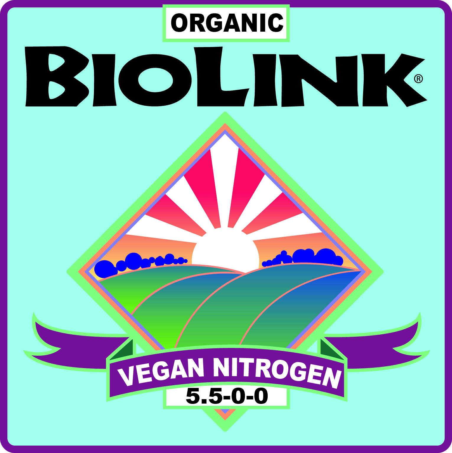 ORGANIC BIOLINK® VEGAN FERTILIZER 5.5-0-0