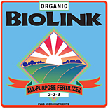 ORGANIC BIOLINK® — ALL-PURPOSE FERTILIZER 3-3-3 PLUS MICROS