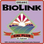 ORGANIC BIOLINK® — CAL PLUS 0-0-0 6%-CA