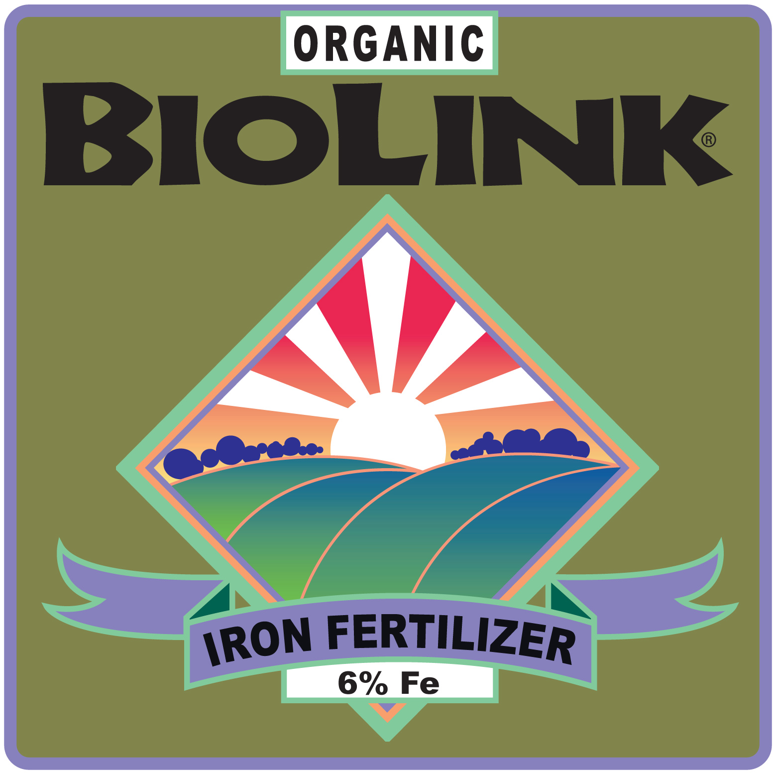 ORGANIC BIOLINK® — IRON 6%