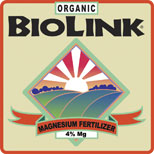ORGANIC BIOLINK® — MAGNESIUM 0-0-0 4%-MG
