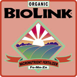 ORGANIC BIOLINK® — MICRONUTRIENT FERTILIZER 0-0-1, 2%-FE, 2%-MN, 3%-ZN